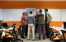 Bild: PackLink.de - Standup Meeting